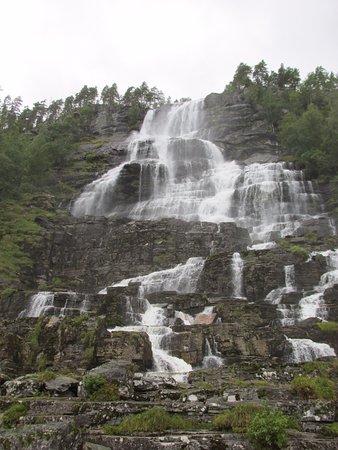 Voss, Norge: Cascata