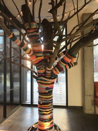 The Maven Hotel: The Yarn Tree!