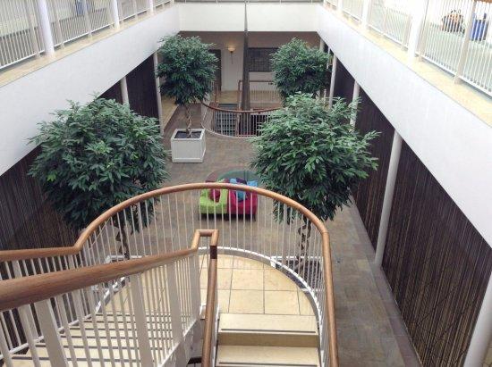 Seaham, UK: Atrium towards Spa
