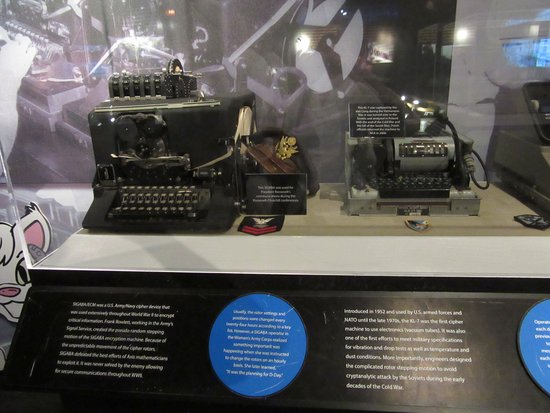 National Cryptologic Museum: nice displays of some very interesting parts of history