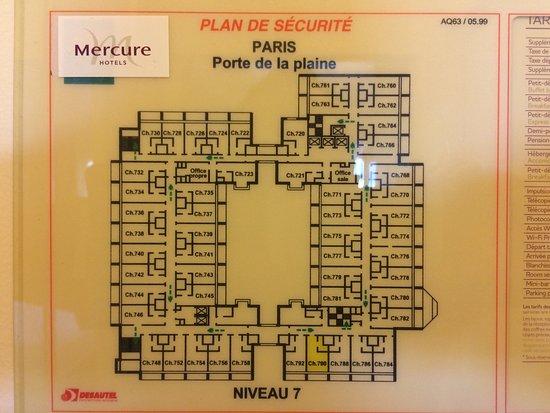 Vanves, Frankrig: Vues générales chambre 790