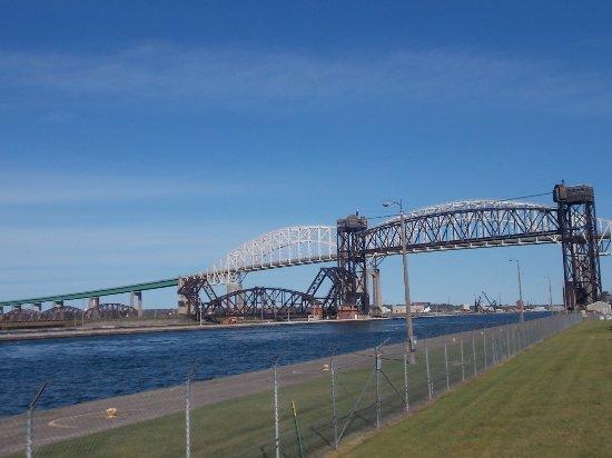 The Soo Locks, Sault St Marie, in Michigan's Upper ...