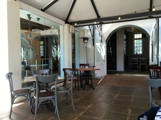 Constantia, South Africa: the conservatory