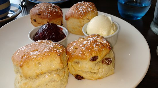 St. Ives Harbour Hotel & Spa: Afternoon cream tea