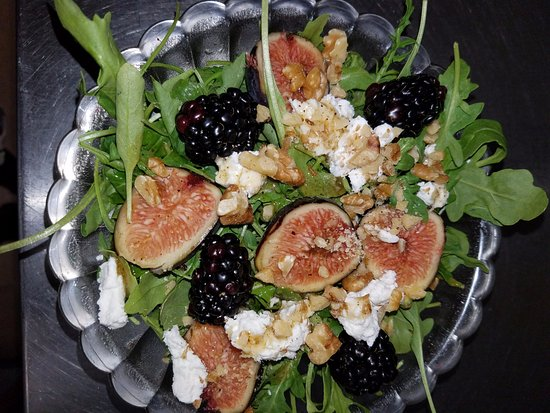 Alton, IL: When Fresh Figs are in Season, we love to feature a Fig Salad.  This is a seasonal item.