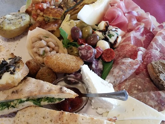 Marsciano, Italien: Antipasto Platter