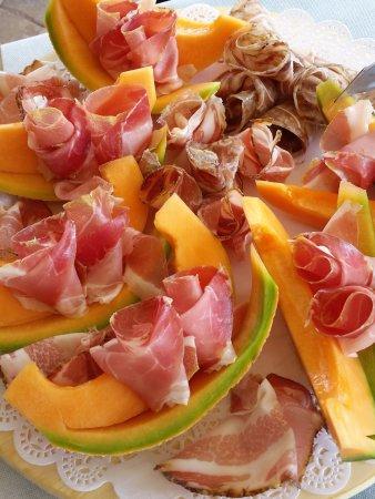 Marsciano, Italia: Prosciutto and Melon
