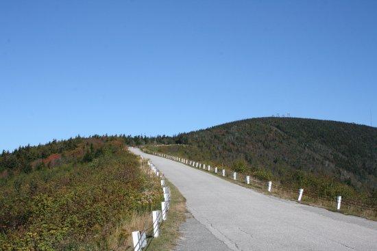 Arlington, VT: The road up Mount Equinox