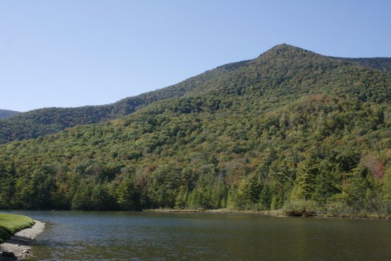 Manchester, VT: View of the lake and hills
