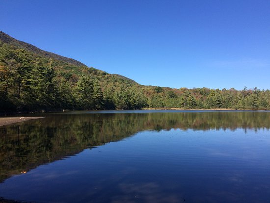 Manchester, VT: View of the lake