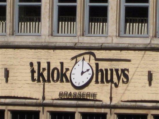 t'Klokhuys : Voorzijde 't Klokhuys in Historisch Gent