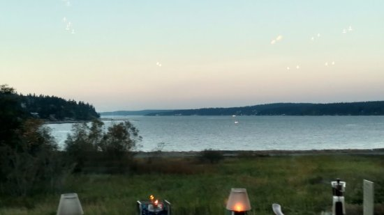 Freeland, WA: view from the table