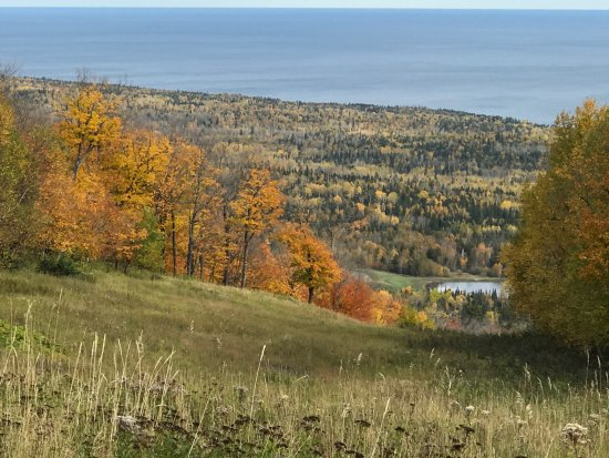 Lutsen, MN: View from the top of the mountain!