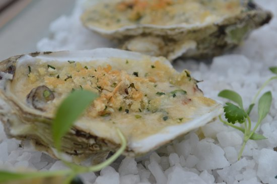 Edwards, โคโลราโด: Oysters Rockerfeller, Chef Rosa's way