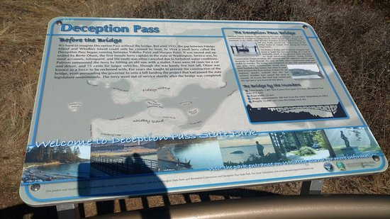 Oak Harbor, WA: information panel
