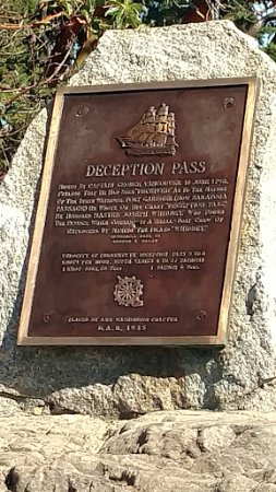Oak Harbor, WA: information re: deception pass - history