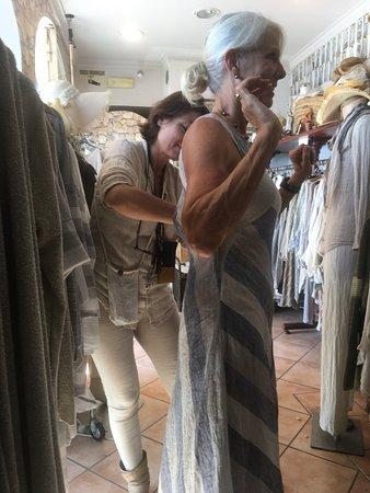 LINOMANIA: custom tailoring by Lina. the designer, herself