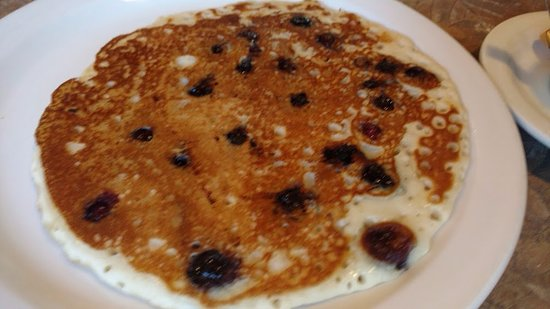 Freeland, WA: blueberry pancake