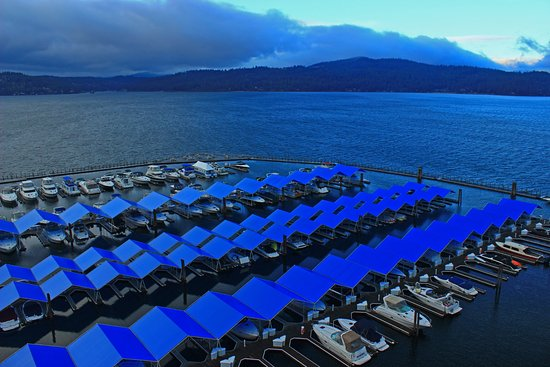 The Coeur d'Alene Resort: Stormy Fall Room View