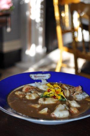 Darrow, LA: Seafood Gumbo