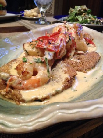 Darrow, LA: Shrimp Aubergine