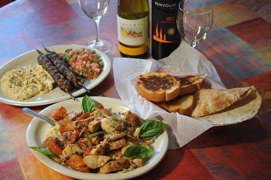 Bastrop, TX: Delicious Mediterranean or Italian cuisine!