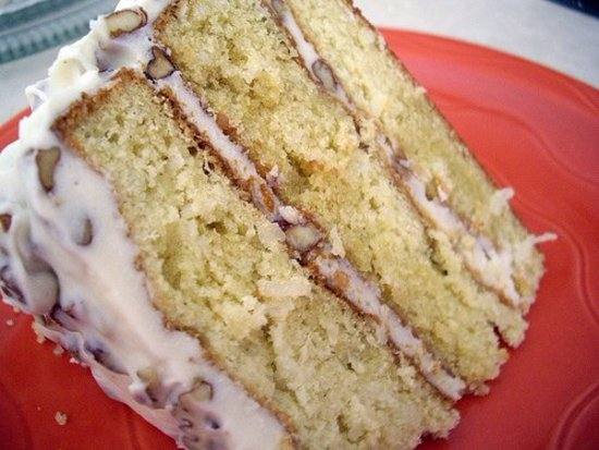 Bastrop, TX: Don't leave without trying an amazing slice of Italian Creme Cake!