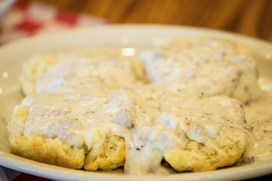 Independence, MO: Biscuits & Gravy available daily until 11:00 a.m.
