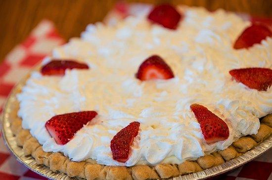 Corner Cafe: Strawberry Pie (seasonal)