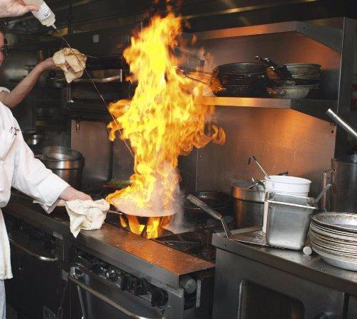 Bastrop, TX: Chef at Work