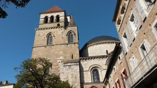 Cahors, France : Cathédrale extérieur