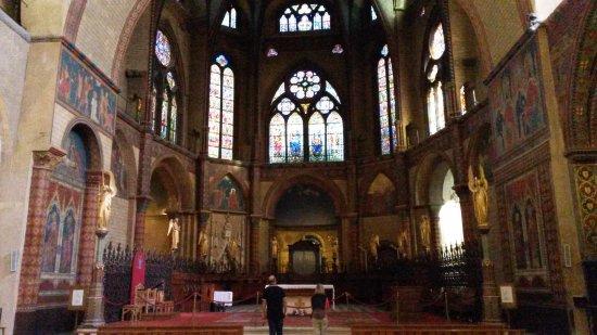 Cahors, France : Cathédrale intérieur