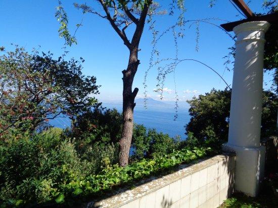 Villa San Michele: depuis la grande loggia