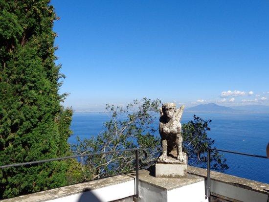 Villa San Michele: Une sphinge, mais pas la plus célèbre