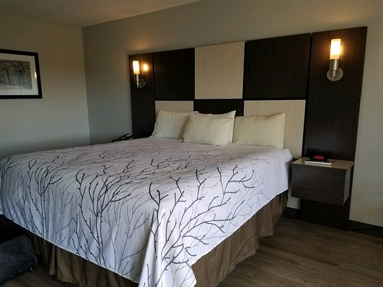 Best Western Cades Cove Inn: The king size bed was really comfy!