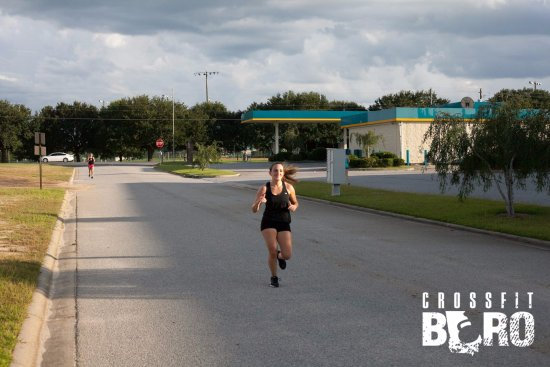 Statesboro, Джорджия: Maria out for a run