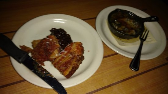 Langley, WA: snails and pork belly