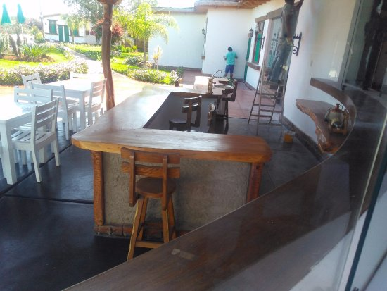 Casa Hacienda Nasca Oasis: Although they painted and fixed at the hotel, we did not feel it was a problem.