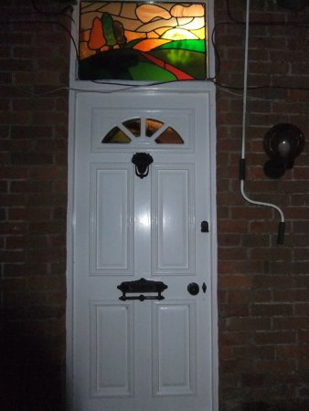 Stained Glass Door Light Created And Designed By Janet Rogers To