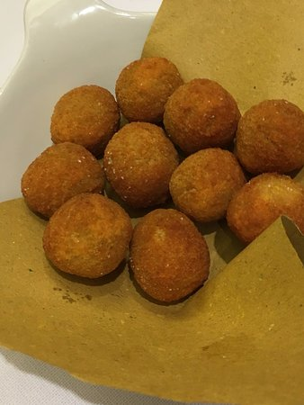 Tessera, Italy: Stuffed Fried Green Olives