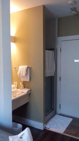 L'Auberge Saint Louis: shower in room