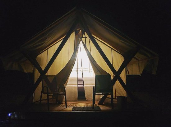 Zion Ponderosa Ranch Resort: Glamping Site No. 3