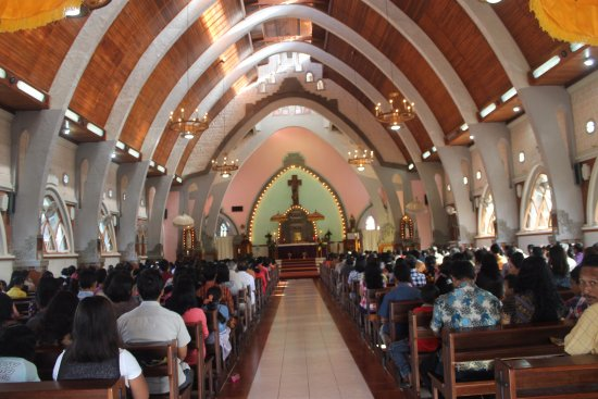 Church Of The Sacred Heart of Jesus: during mass