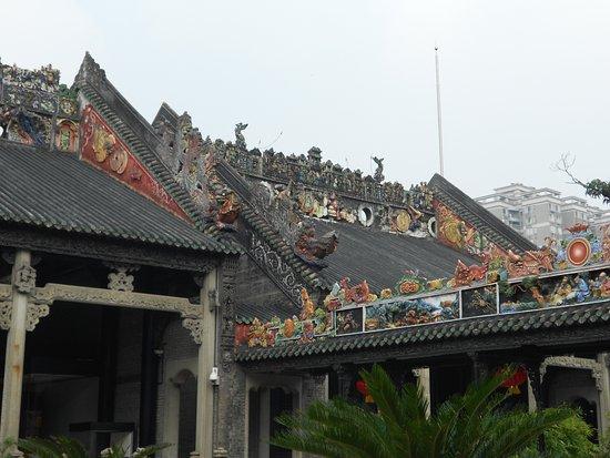 Chen Clan Ancestral Hall-Folk Craft Museum : Крыша