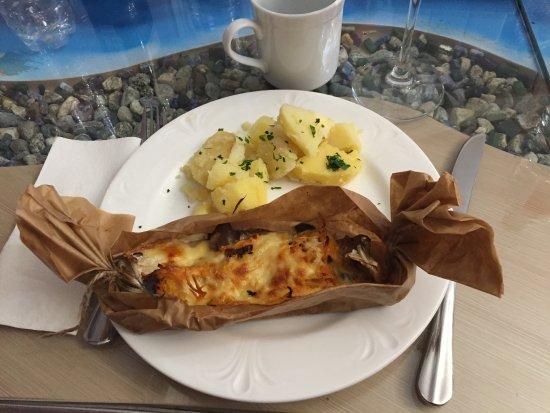 Ресторан Маяк: Papillote d'Omoul