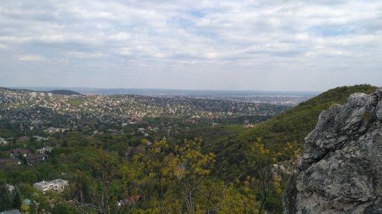 Janoshegy : Вид со скалы