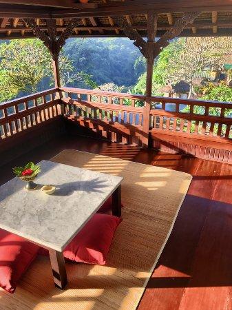 ปิตา มาฮา รีสอร์ท แอนด์ สปา: View from upper deck of our villa