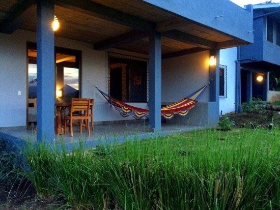 Balgue, Nicaragua: Porch of Concepcion Suite