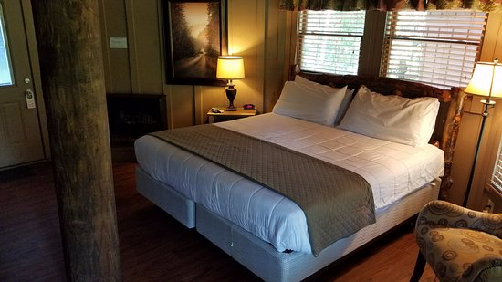 Whitesburg, GA: King Bed in Tree House Room