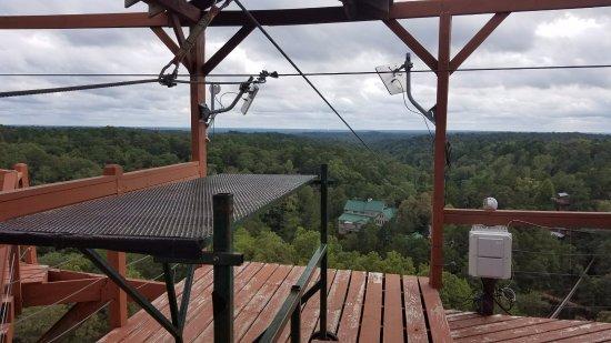 Whitesburg, GA: Flight of the Falcon Zip Line